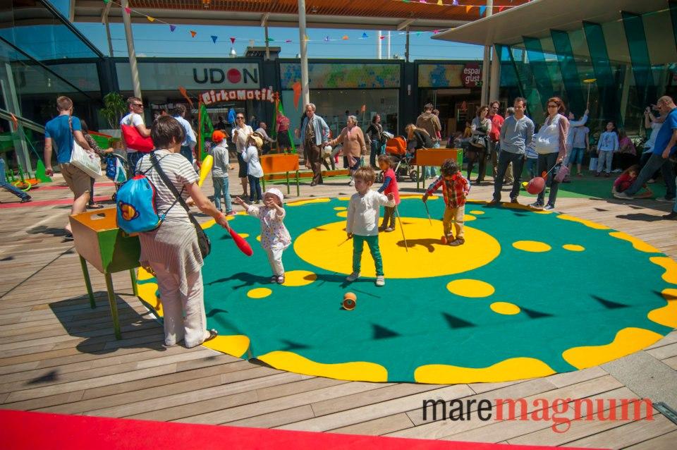 circo maremagnum terraza