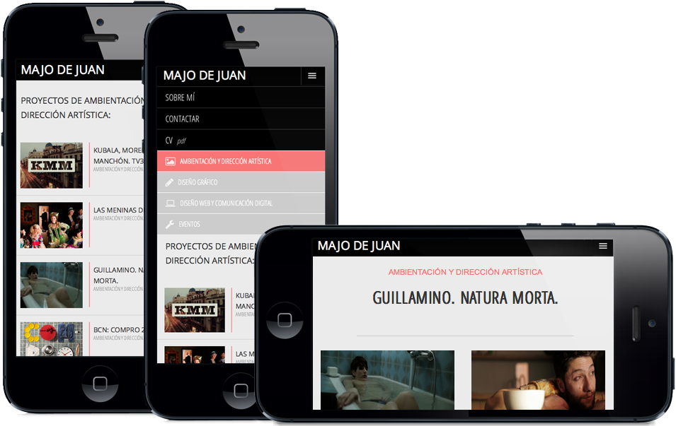 Diseño responsive iPhone 5