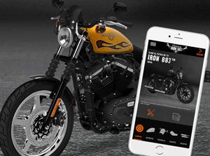 Móntate tu Harley-Davidson Iron 883™