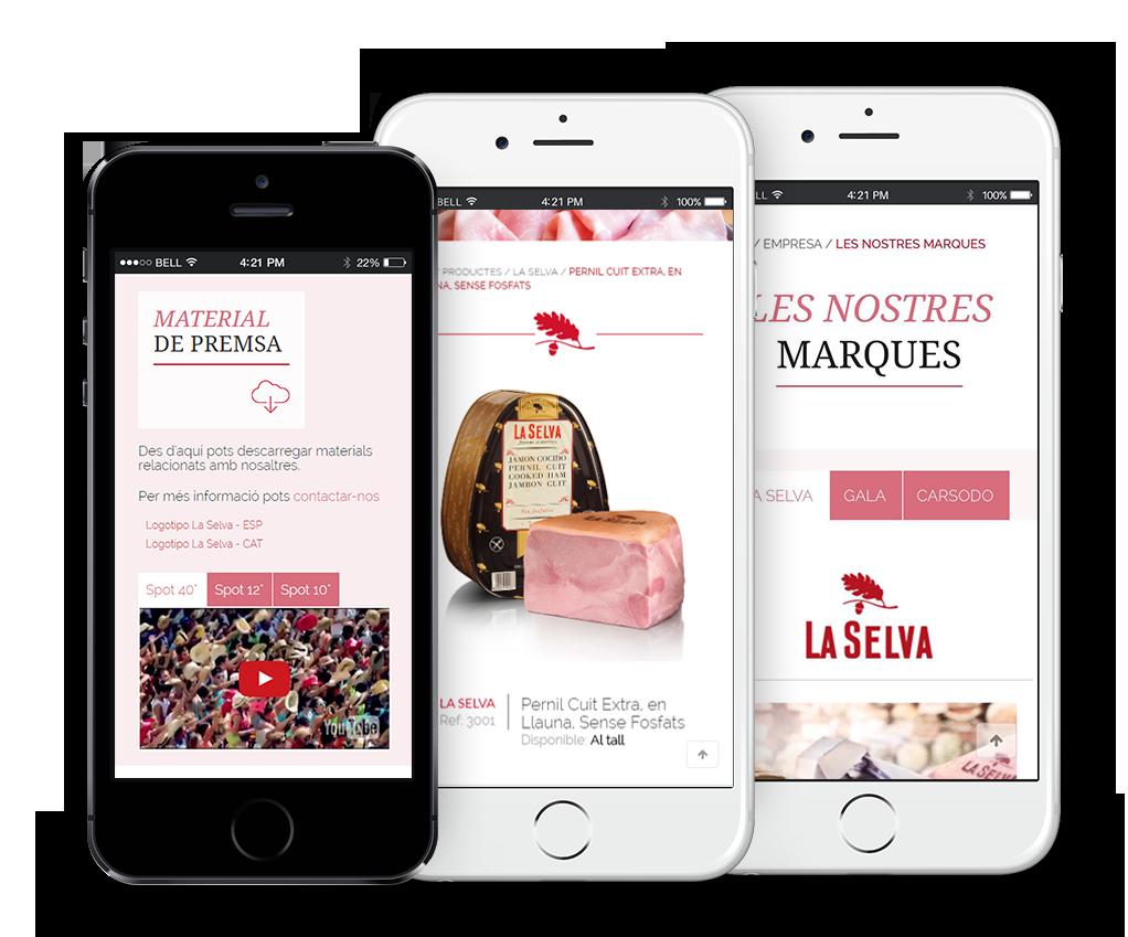 "Diseño web ""La Selva"""