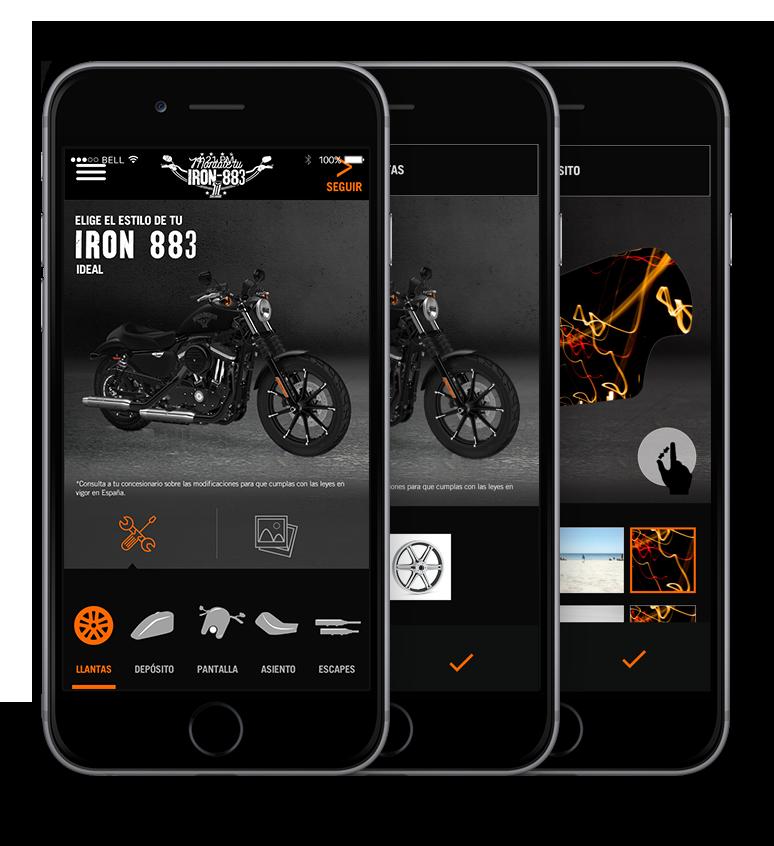 Diseño app Facebook